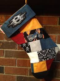 Best 25+ Harley davidson fabric ideas on Pinterest | Harley boots ... & Quilted Harley Davidson Stocking-Made with fabric scraps from a past quilt  and my boys Adamdwight.com