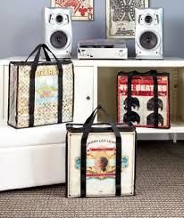 ... How to store your vinyl records. case for retro album
