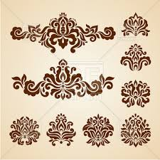Decorative Design Delectable Ornate Vintage Vignettes And Dividers Antique Decorative Design