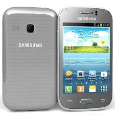 Samsung Galaxy Young S6310 Silver 3D ...