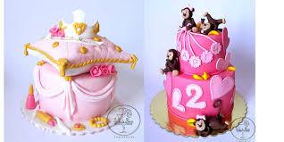 Cake Design For Girls Birthday