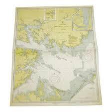 1951 U S East Coast Nautical Chart No 1231 395 00