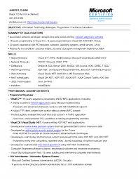Resume Objective Information Technology Sample Objectives For