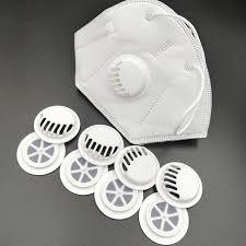 <b>Replaceable</b> Circular Universal Breathing Valve <b>Dustproof Mask</b> Air ...