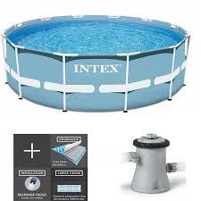 Piscine Tubulaire Intex Prism Frame 3m05 X 76cm Avec Epurateur Pas