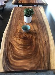 Massivholztische Aus Einer Platte Vintage Holz