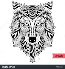 Zen Wolf Coloring Pages Best Of Print Realistic Adult Free Printable