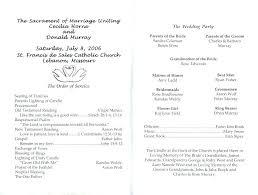 Sample Of Wedding Program Tire Church Template Google Docs ...