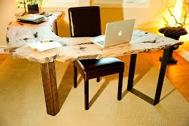 work tables for home office. View In Gallery Natural Edge Work Tables Give You Design Freedom And Usher Woodsy Warmth [Design: For Home Office
