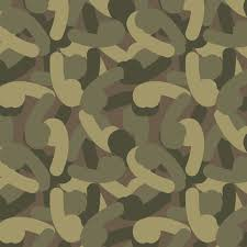 Camo Pattern Best Penis Camouflage Pattern