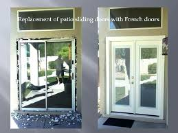 remove sliding door replacing patio doors with french doors replacing patio sliding doors with french doors