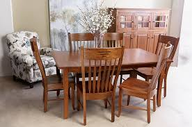 discover gibson s solid cherry table with 6 chairs a highlight of gibson s charming dining sets