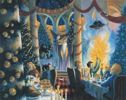 mary grandpre harry potter in the great hall harry potter jk rowling world wide art