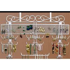 Hanging Necklace Organizer Hanging Jewelry Storage And Organizers Organize It