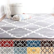 10x10 area rug well woven modern geometric trellis 10 x rugs