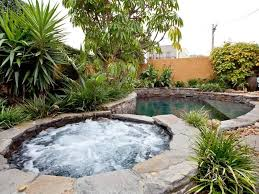 Small Picture garden design using pebbles with pool fountain Gardens photo