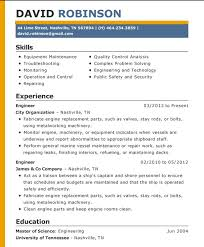 Correct Form Cool Correct Format Of A Resume Free Career Resume