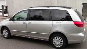 2004 Toyota Sienna LE FWD Minivan - YouTube