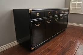 black lacquer paint for furniture. midcentury modern glossy black lacquered drexel sideboard lacquer paint for furniture i
