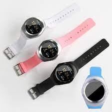 Đồng hồ thông minh Mặt Tròn SmartWatch Y1 + tặng kèm giá đỡ hình hoa - Đồng  Hồ Thông Minh Thương hiệu OEM