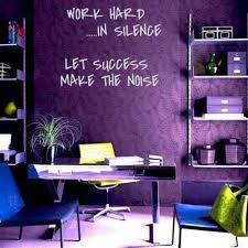 purple office decor. Purple Office Space! This Is Exactly What I Would Have My Space Look Like Maybe Tweaking A Few Things Differently But The Wall Reall\u2026 Decor N