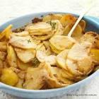 4 ingredient  sausage   potato bake