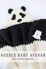 Hooded Blanket Crochet Pattern Simple Decorating