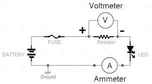 dc ammeter shunt wiring diagram ammeter wikidoc ammeter schematic symbol