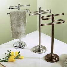 Fresco Of Stylish Free Standing Towel Racks For Outstanding Bathroom Ideas  Pinterest
