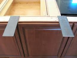 countertop support floating posts bracket for granite brackets home depot