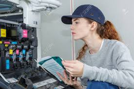 Printer Technician Female Printer Technician