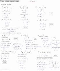 inequalities worksheet inspirational solving basic solving radical equations worksheet solving radical equations worksheet awesome equations circles