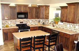 Tile Backsplash In Kitchen Install Tile Backsplash Press Glass Tile Into The Kitchen Wall