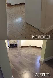 can you lay ceramic tile over vinyl flooring awesome installing l and stick vinyl tile for
