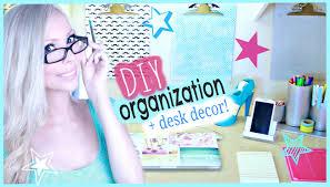 Diy Organization Diy Organization Desk Decor Ideas Youtube