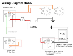 wiring diagram for car air horns images wiring diagram for al air addition air horn relay wiring diagram