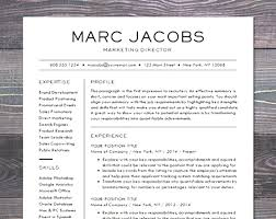 Modern Resume Templates Enchanting Resume Templates Word Free Download Awesome Professional Modern