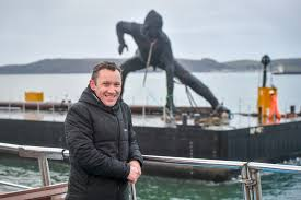 Largest cast <b>bronze sculpture</b> in UK travels to Plymouth by barge ...