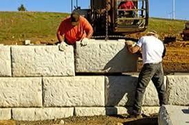 precast concrete blocks stone wood
