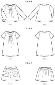 Hopscotch Pattern Impressive Digital Hopscotch Skirt Knit Top Dress Sewing Pattern Shop