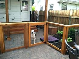 um size of outdoor dog run with cover indoor kennels and best material for landscape flooring