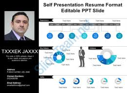 Self Presentation Resume Format Editable Ppt Slide PowerPoint Magnificent Resume Powerpoint