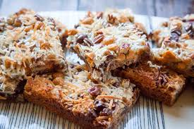 the one essential ing in the whole recipe is sweetened condensed milk this sticky gooey honey thick condensed milk is what binds all the