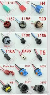h1 h3 ceramic female plug wire wiring harness socket adapters h1 h3 ceramic female plug wire wiring harness socket adapters extension cable for headlights led fog