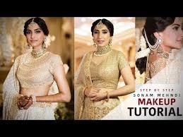 sonam kapoor wedding makeup tutorial