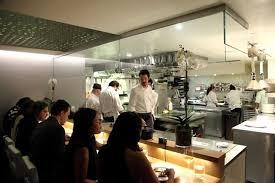 restaurant open kitchen. Open Kitchen Interior Design Of Aldea Restaurant, New York Restaurant
