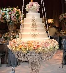 chandelier cake stand round crystal hanging with beaded table centerpieces for wedding ca chandelier cake stand