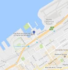 <b>Rock N</b>'<b>Roll</b> Hall Of Fame - Google My Maps