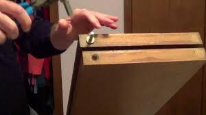 How to Repair and Adjust Bifold Closet Door - YouTube