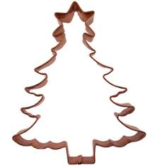 Copper Cookie Cutter-Christmas Tree